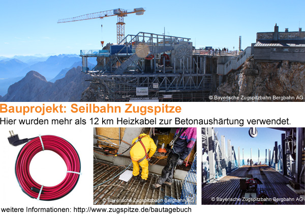 Reference project / construction project Zugspitze cable car 2017