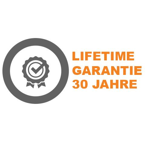 Lifetime Garantie 30 Jahre